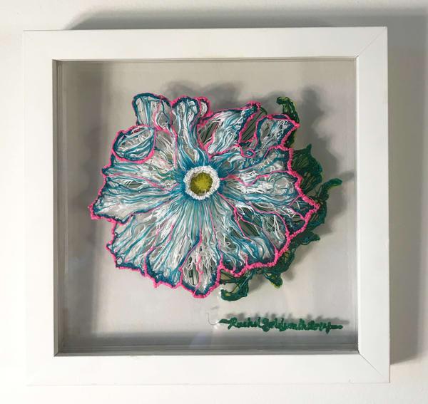 Imaginary Flower Art | Artist Rachel Goldsmith, LLC