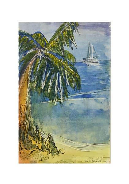 Palm Tree Art | Artist Rachel Goldsmith, LLC