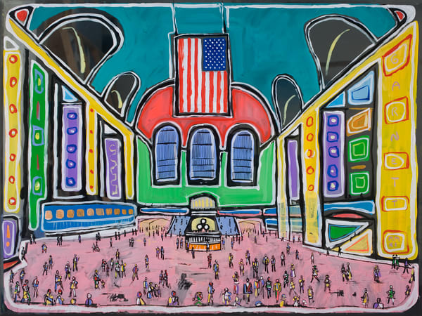 Grand Central Art | Sandy Garnett Studio