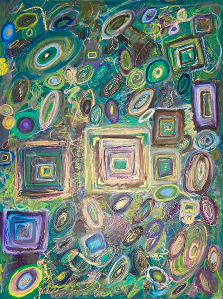 Metaphysical Malachite Art | Abstraction Gallery by Brenden