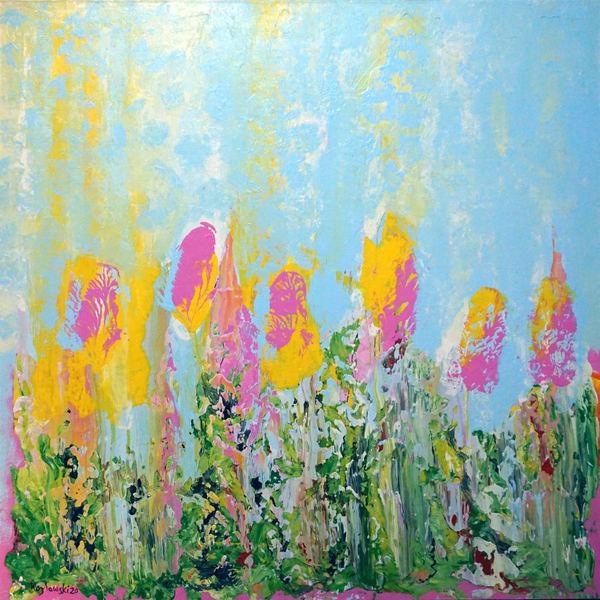 Wild Spring Flowers Art | Maciek Peter Kozlowski Art