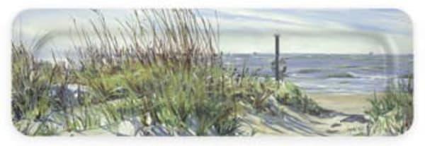 Beach Path : Art Tray | Crystal Moll Gallery