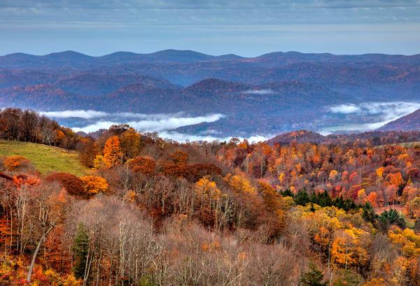 West Virginia View A2395 6 7   Art | Koral Martin Fine Art Photography
