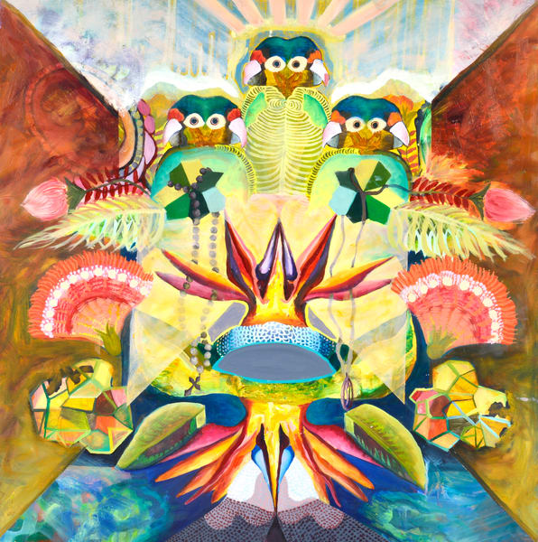 Birds Of Paradise Art   Mindbender Art