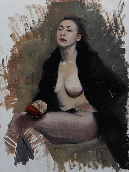 Bea With Black Coat  Art | Artemesia Galerie