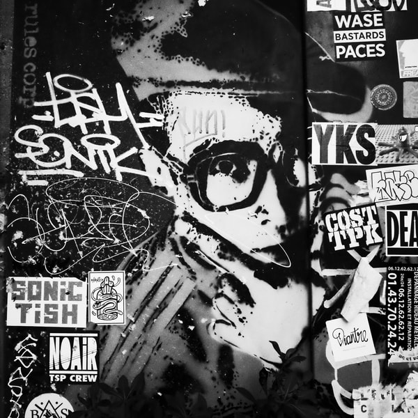 Affiche - 2236 shots in Paris with M***** F******