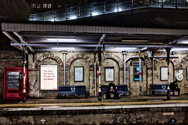 Lonely In Denmark Hill Photography Art | Martin Geddes Photography