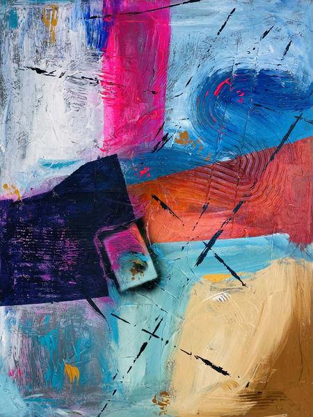 """""""Window To The Soul"""" Original 30"""" X 40"""" Art   Garry Scott Wheeler Artwork LLC"""