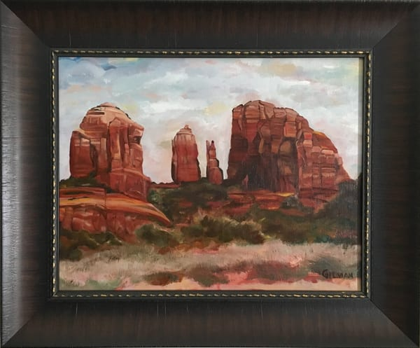 """""""Cathedral Rock"""" Oil on Canvas by Emily Gilman Beezley"""