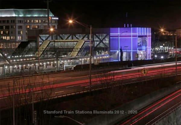 Stamford Train Station Art | Sandy Garnett Studio