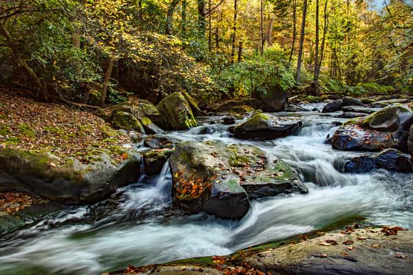 Fall At Dunloup Creek 1281 Art | Koral Martin Fine Art Photography