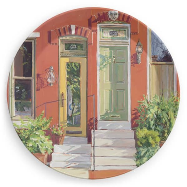 Left & Right Neighbors : Party Plate | Crystal Moll Gallery
