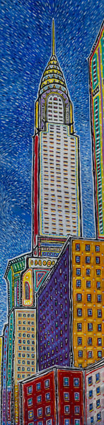 Chrysler Building Art | Sandy Garnett Studio