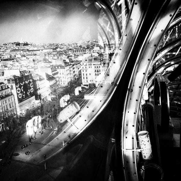 The Beaubourg's view of Paris