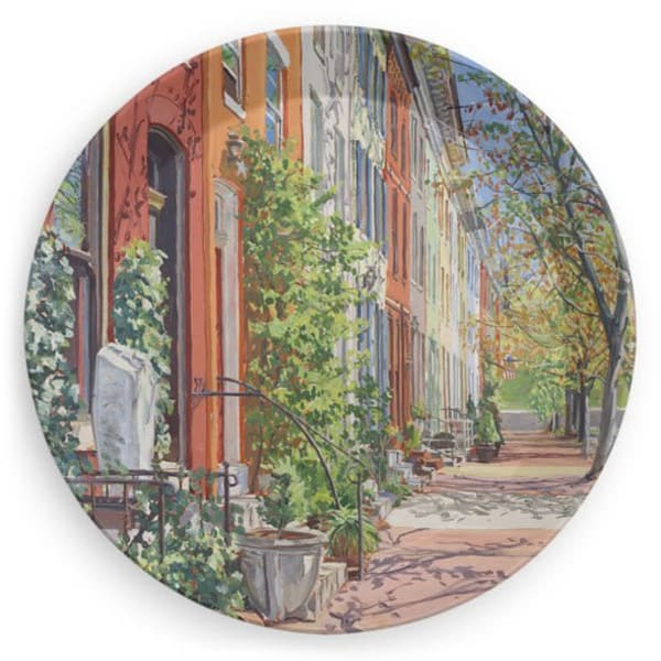 art plates, Baltimore