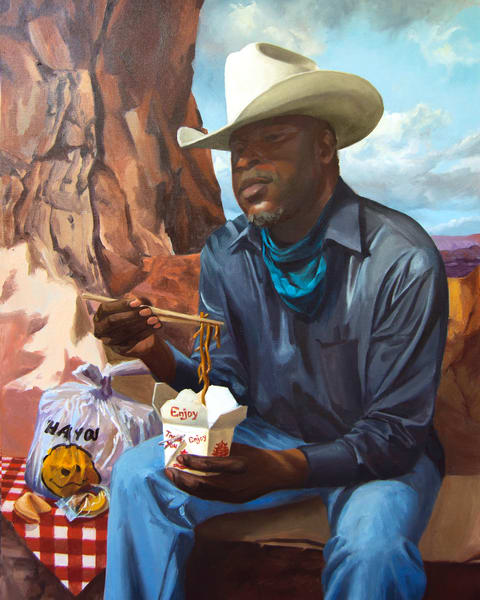 Cowboy Picnics In The Canyon Art | Kym Day Studio
