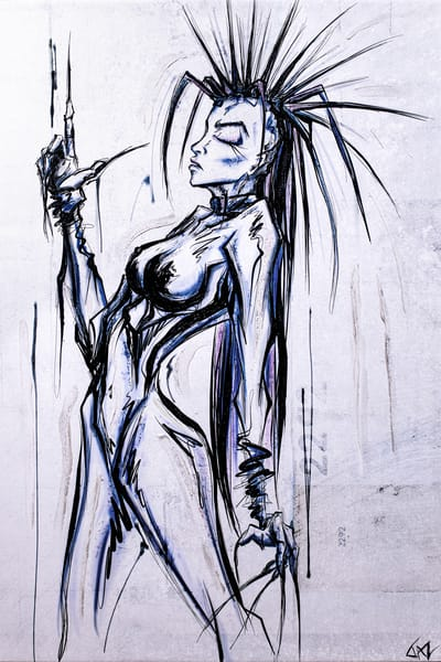 Indigo Warrior Art | Angel Trip Studio