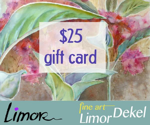 $25 Gift Card | Limor Dekel Fine Art
