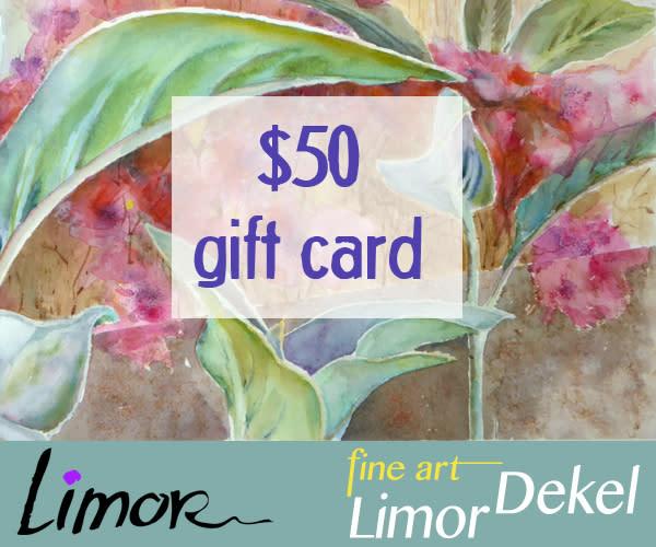 $50 Gift Card | Limor Dekel Fine Art