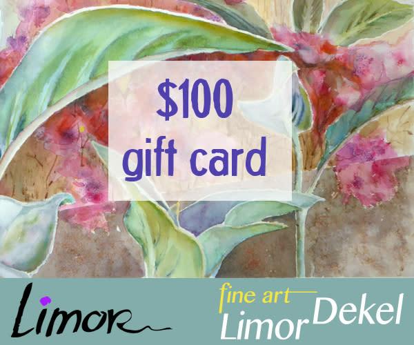 $100 Gift Card | Limor Dekel Fine Art