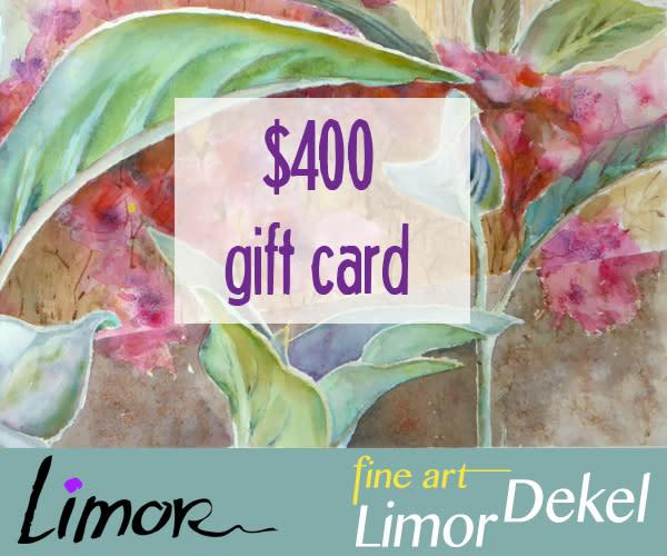 $400 Gift Card | Limor Dekel Fine Art