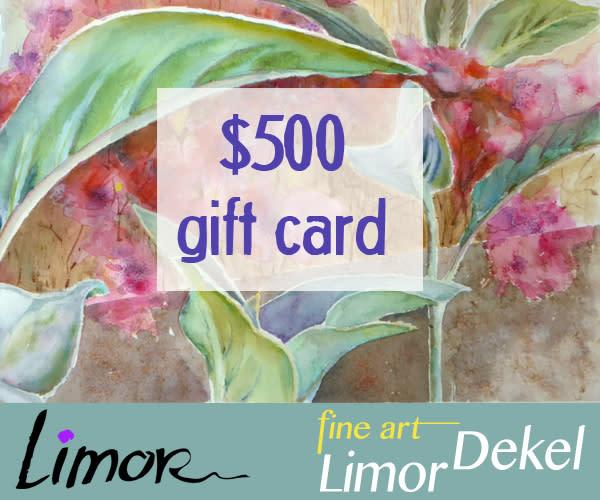 $500 Gift Card | Limor Dekel Fine Art