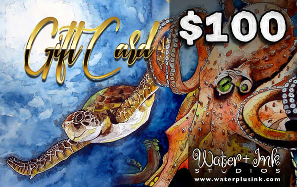 $100 Gift Card | Water+Ink Studios