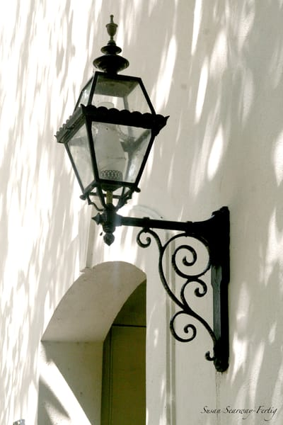 Welcome Home Lantern Art   Susan Searway Art & Design