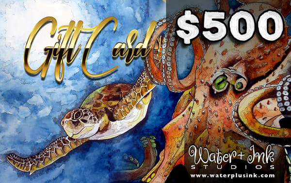 $500 Gift Card | Water+Ink Studios
