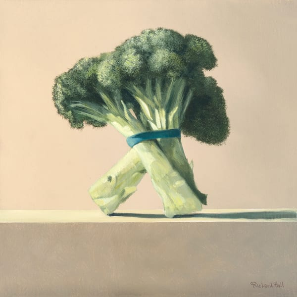 Broccoli Art | Richard Hall Fine Art