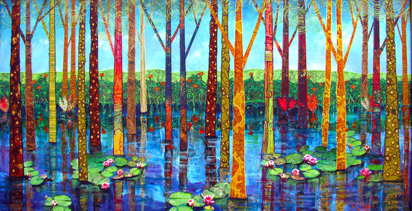 Swamp Song Art   Channe Felton Fine Art