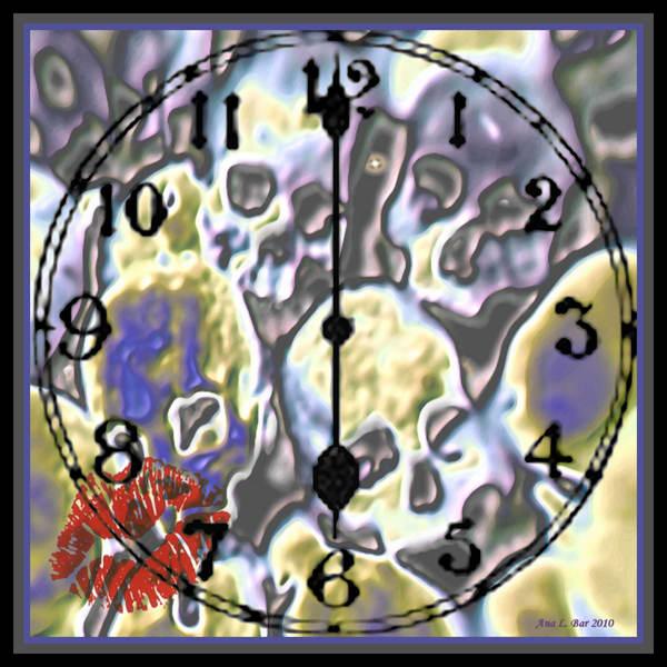 As Time Runs Down Framed Signed Deva Art | Lillith