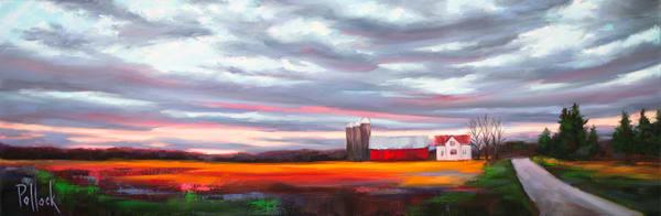 November Horizon print   Sarah Pollock Studio