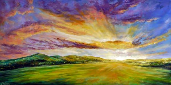Oh What A Beautiful Morning Art | Channe Felton Fine Art