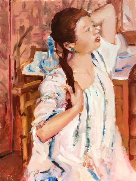 Mary cassatt study 6x8 180 tharv6