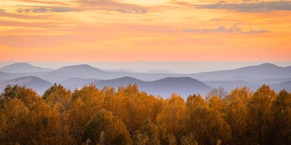 Autumn Over Yellow Aspen Photography Art | Spry Gallery
