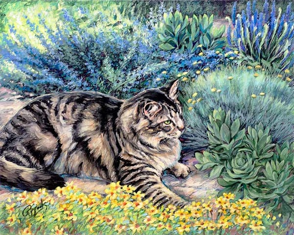 Garden Zen Art | Rebecca Zook Creative Studio