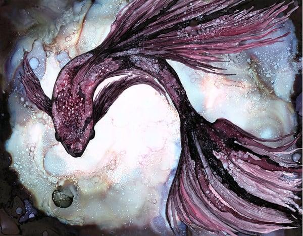 Swirl Red   Print Art | Heidi Stavinga Studio