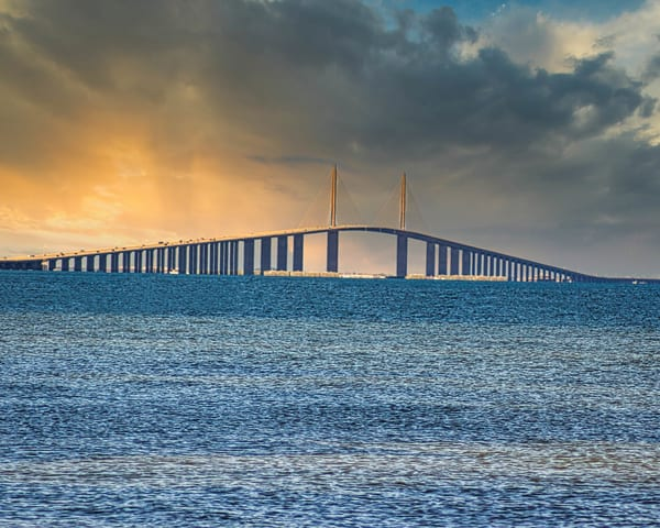 Sunshine Skyway Bridge Photography Art | It's Your World - Enjoy!