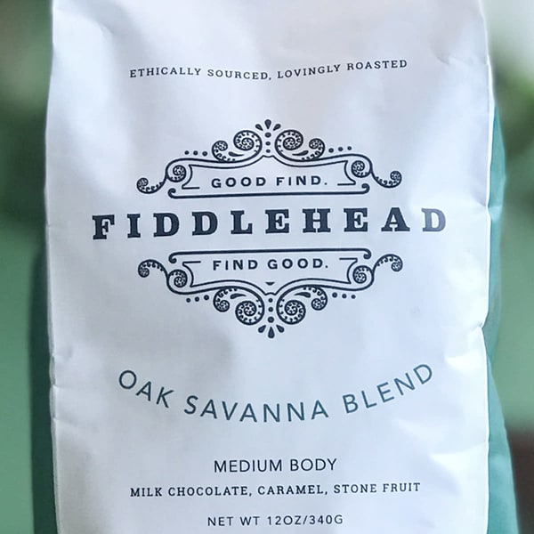 Oak Savanna Whole Coffee Beans