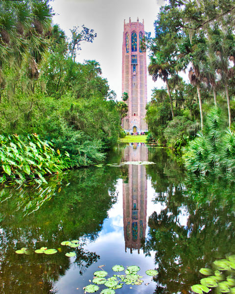 Bok Tower Reflected Photography Art | It's Your World - Enjoy!