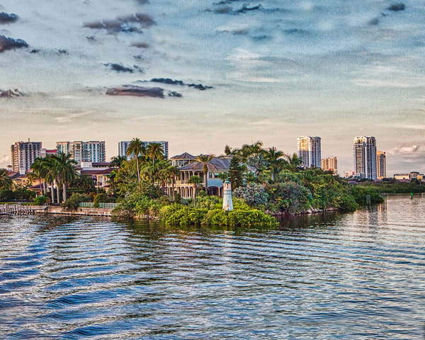 Tampa Bay Lighouse Photography Art | It's Your World - Enjoy!