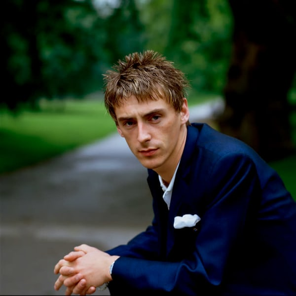 Paul Weller of The Style Council in Hyde Park