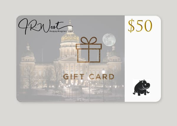 $50 Gift Card | Happy Hogtor Photography