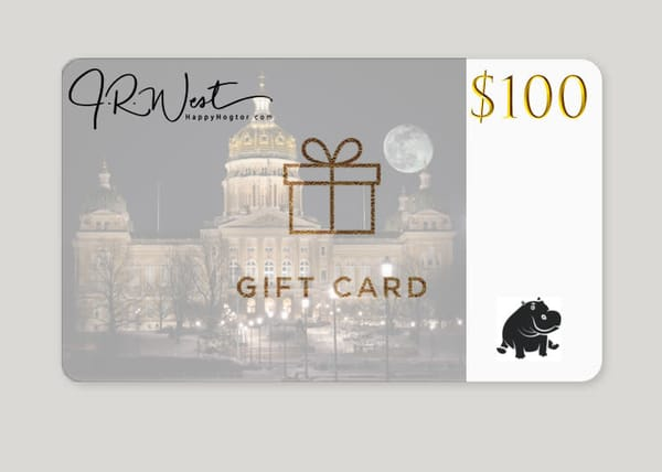 $100 Gift Card | Happy Hogtor Photography