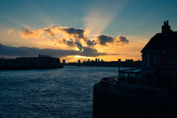 Thames Sunset At The Narrow Ii Art | Martin Geddes Photography