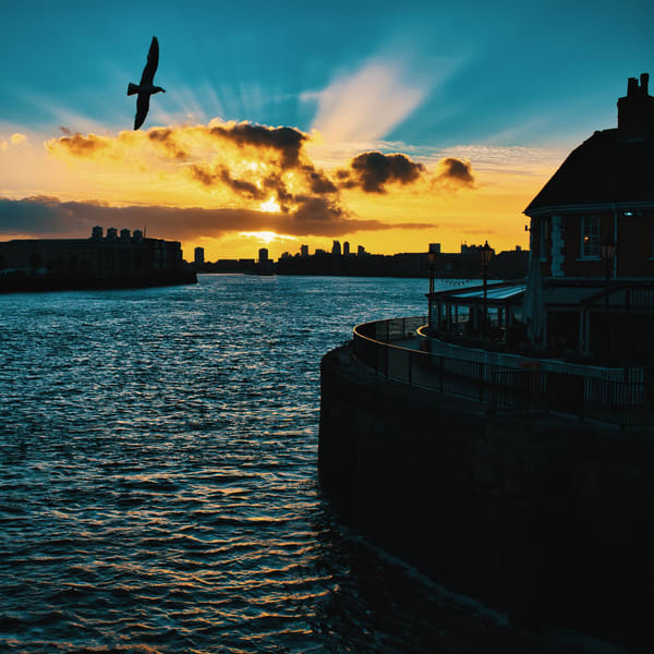 Thames Sunset At The Narrow Art | Martin Geddes Photography