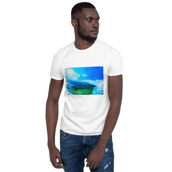 Reef Break Mens T Shirts   CruzArtz Fine Arts