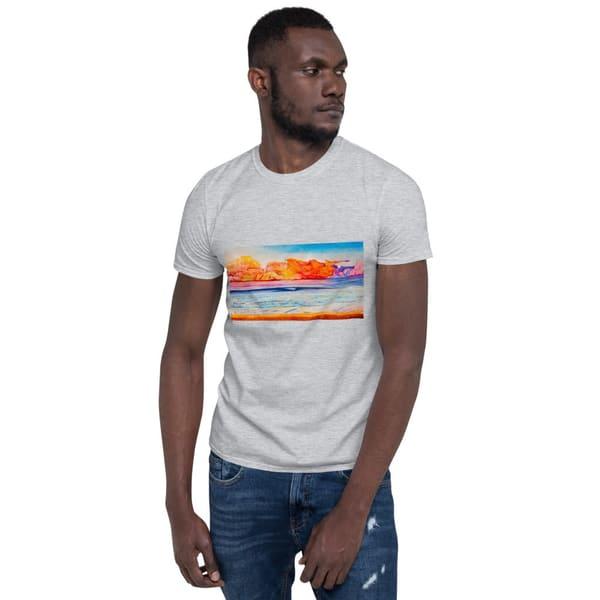 Psychedelic Wave Mens T Shirts   CruzArtz Fine Arts
