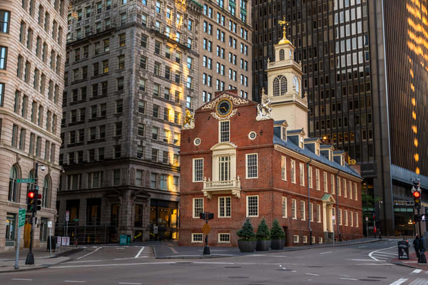 Morning at the Old State House